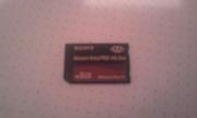 новая флэш карта SONY memory stick PRO-HG Duo